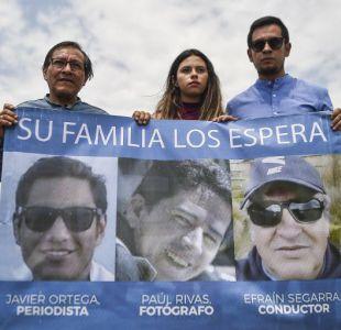 Colombia confirma que los cuerpos encontrados son de los periodistas ecuatorianos asesinados