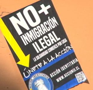 [VIDEO] Indignación por afiches xenófobos en Chillán