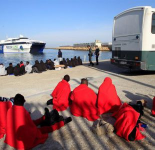 Rescatan a más de 400 migrantes frente a las costas españolas