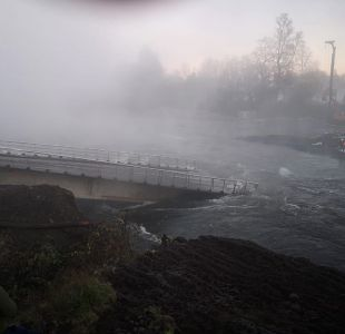 [VIDEO] El estado del puente Cancura luego del derrumbe