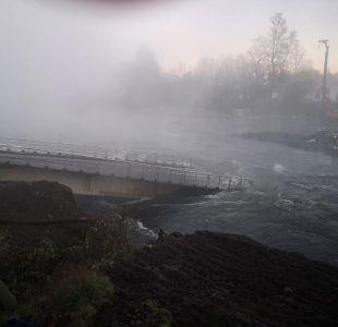 MOP iniciará investigación por derrumbe del puente Cancura