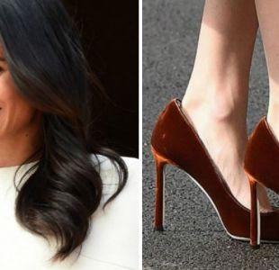 El motivo por el que Meghan Markle usa zapatos más grandes de su talla
