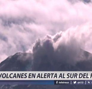 [VIDEO] Volcanes en alerta al sur del país