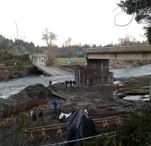 Ministro Fontaine tras derrumbe de puente Cancura: Es inaceptable