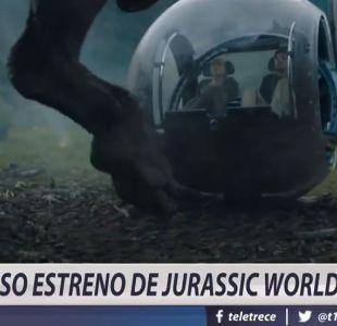 [VIDEO] Jurassic World lidera la taquilla en Chile
