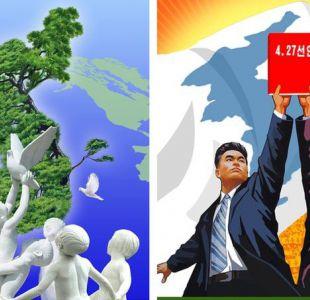 El cambio en la propaganda de Corea del Norte que ya no muestra misiles nucleares apuntando a EE.UU.