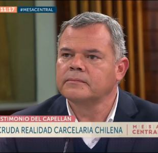 """Capellán de Gendarmería: """"Pareciera que el estado de derecho termina cuando eres imputado"""