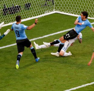 [VIDEO] El gol de Edinson Cavani que puso la goleada de Uruguay ante Rusia