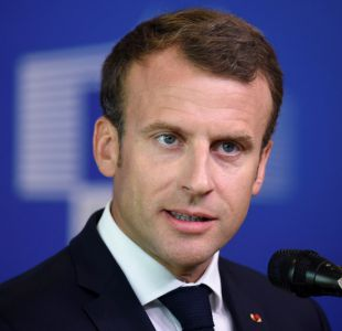 [VIDEO] El joven que fue regañado por Macron ahora es víctima de bullying