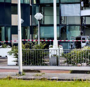 Camioneta embiste las oficinas del periódico De Telegraaf en Amsterdam