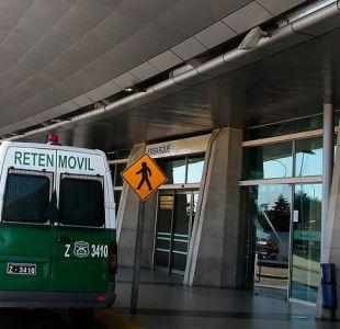 [VIDEO] Detienen a conductor Uber que intentó atropellar a fiscalizador en aeropuerto de Concepción