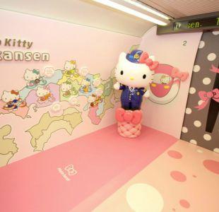 [VIDEO] Conoce el tren bala inspirado en Hello Kitty