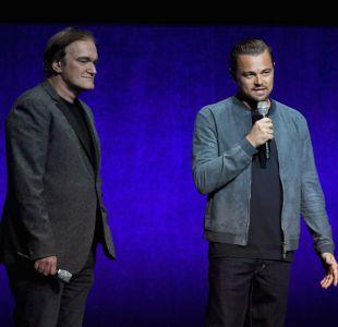 Quentin Tarantino y Leonardo DiCaprio
