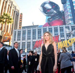 Michelle Pfeiffer en el avant premiere de su nueva película