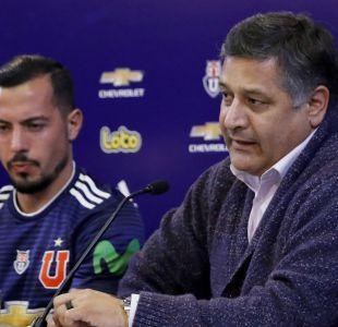 """[VIDEO] Ronald Fuentes da por cerrados los fichajes en la U: """"El plantel está completo"""""""