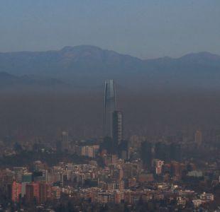Intendencia decreta alerta ambiental para este domingo en Santiago