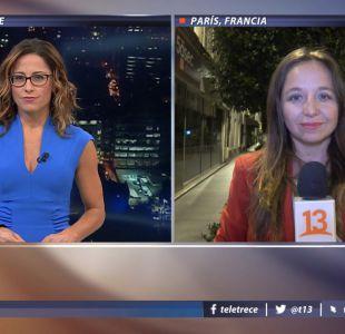 [VIDEO] T13 en Francia: La trastienda de la audiencia de Palma Salamanca