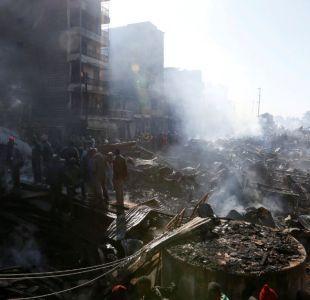 Incendio en mercado de Kenia deja a 15 personas fallecidas