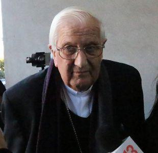 [VIDEO] Alejandro Goic asegura que su renuncia a diócesis de Rancagua tiene un sabor amargo