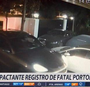 [VIDEO] El registro clave del asesinato de joven durante portonazo en Lo Barnechea
