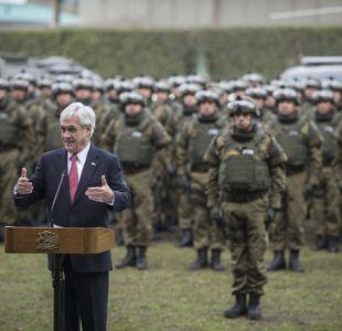 Así son las fuerzas especiales creadas por Piñera para La Araucanía