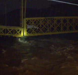 [VIDEO] 14 puentes están en riesgo en Chile