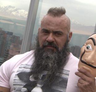 [VIDEO] Actor de La Casa de Papel en Chile