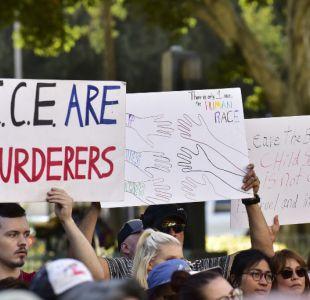 Más de 500 mujeres arrestadas durante protesta en EEUU por separación de familias