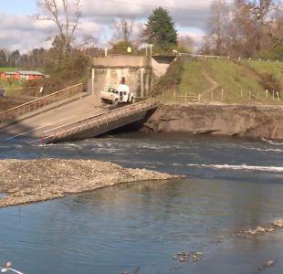 [VIDEO] Los puentes que corren peligro en Chile