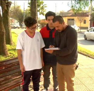 [VIDEO] #LaBuenaNoticia: Clases gratis de matemáticas en la plaza