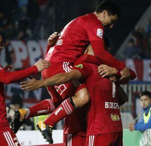 La U golea a Colchagua y sella su pase a cuartos de final de Copa Chile