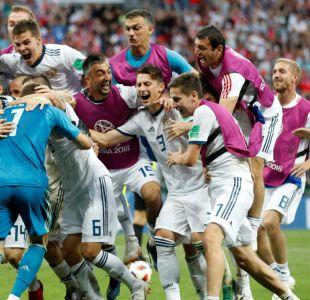 [VIDEO] Rusia da el gran golpe y avanza a cuartos tras vencer a España en penales