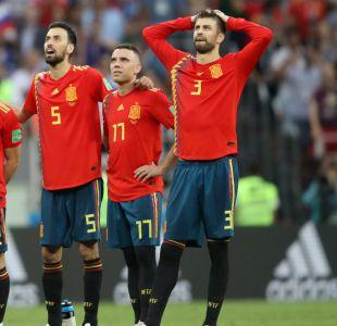 [FOTOS] Las caras de la eliminación: Llanto y desazón en Selección Española tras adiós al Mundial