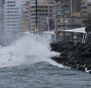 Anuncian marejadas anormales en gran parte del territorio nacional