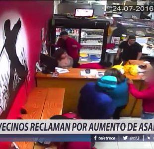 [VIDEO] Vecinos reclaman por aumento de asaltos en Renca