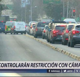 [VIDEO] Controlarán restricción con cámaras