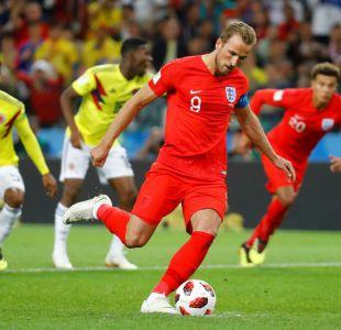 [VIDEO] El penal de Kane que le da la ventaja a Inglaterra sobre Colombia