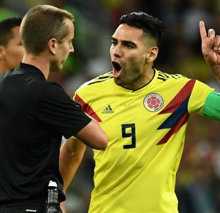 """[VIDEO] Falcao estalla contra el arbitraje tras eliminación de Colombia: """"Es una vergüenza"""""""