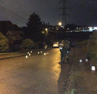 Oficial PDI repele intento de portonazo hiriendo de gravedad a asaltante en Concepción