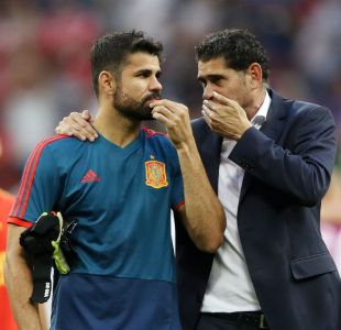[VIDEO] Te lo dije: La reacción de Diego Costa tras penal de Koke