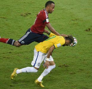 Se retira Camilo Zúñiga, el defensa colombiano que sacó a Neymar del Mundial de Brasil 2014