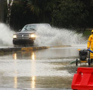 [VIDEO] Marejadas y daños a viviendas producto de fuertes vientos en Talcahuano