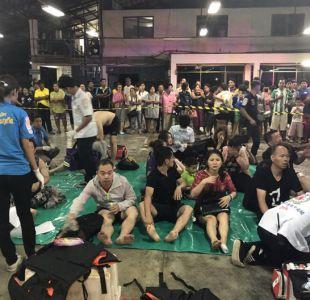 [VIDEO] Un muerto y más de 50 desaparecidos por naufragio de un barco en Tailandia