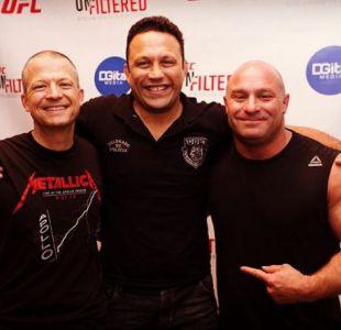 [VIDEO] Un ex campeón UFC reduce a un borracho idiota en un bar