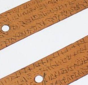Las misteriosas escrituras halladas en hojas de palma y en una lengua que nadie puede identificar