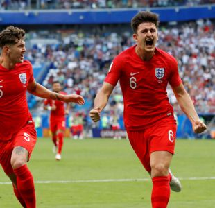 [VIDEO] El cabezazo de Maguire que le dio la ventaja a Inglaterra sobre Suecia