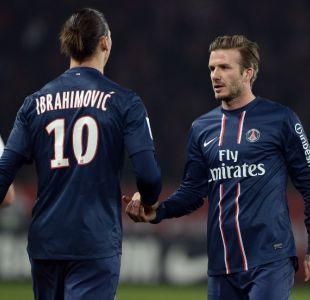 ¿Cumplirá? Zlatan Ibrahimovic perdió su peculiar apuesta con David Beckham