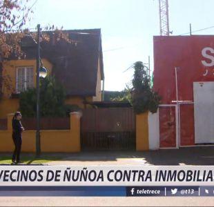 [VIDEO] Vecinos de Ñuñoa contra Inmobiliarias