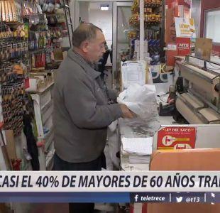 [VIDEO] Casi el 40% de los mayores de 60 años trabaja
