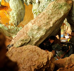 Empieza la arriesgada operación de evacuación de la cueva de Tailandia